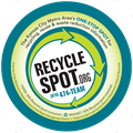 Image of RecycleSpot.org Magnet
