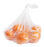 oranges in produce bag