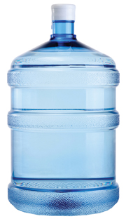 Water cooler bottle