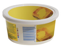margarine tub