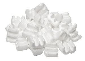"Styrofoam packing ""peanuts"""