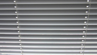 photo of window blinds