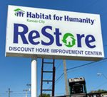 Habitat for Humanity KC ReStore Sign