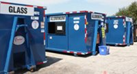 photo of drop-off recycling center