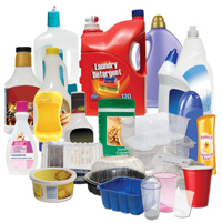 Photo of plastic packaging