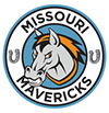 Logo of the Missouri Mavericks. The Missouri Mavericks are Recycle More At Work partner.