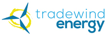Tradewind Energy logo. Tradewind Energy is a Recycle More At Work partner.